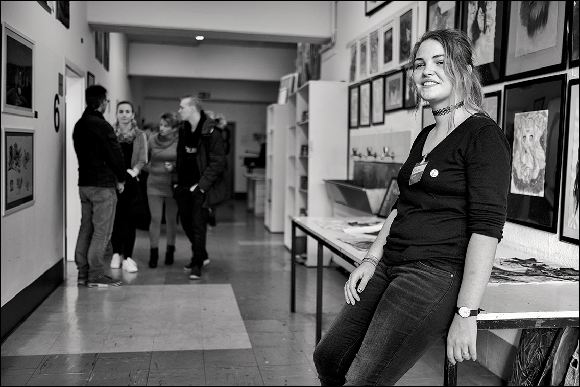 DSF8583 in Tag der offenen Tür in der Kunstschule Wandsbek am 19.11.2017