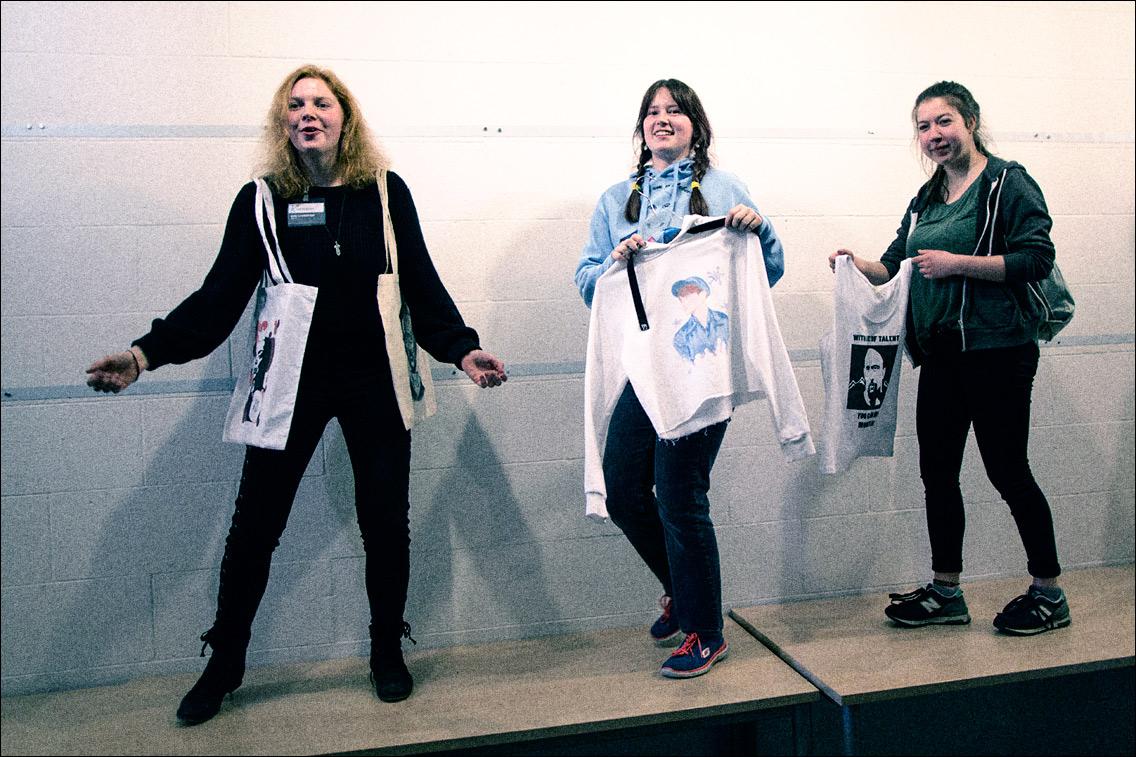 MGL1969 in Tag der offenen Tür in der Kunstschule Wandsbek am 11. März 2018