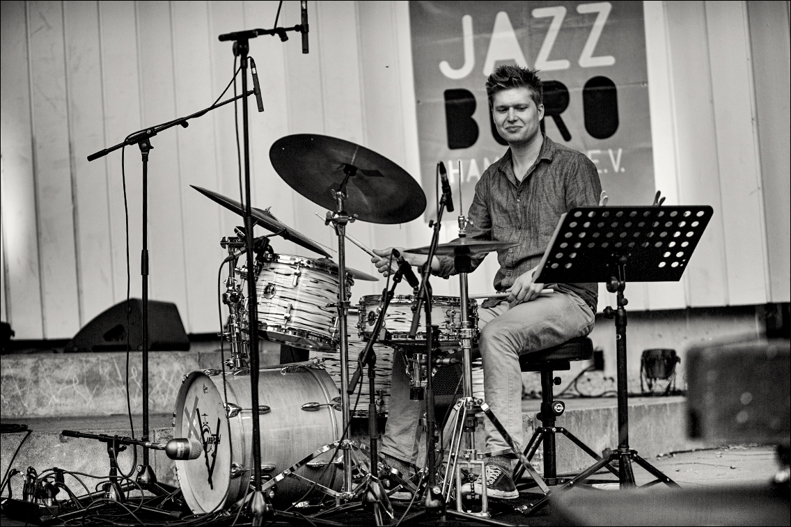 MGL3595 in Fynn Grossmann Quintett beim Jazz Open Hamburg 2018