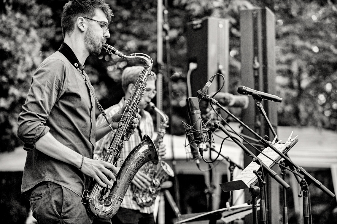 MGL3903 in Fynn Grossmann Quintett beim Jazz Open Hamburg 2018