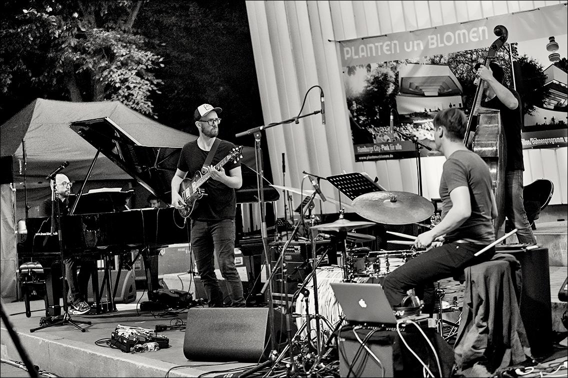 MGL5635 in Heiko Fischer Quartett beim Jazz Open Hamburg 2018