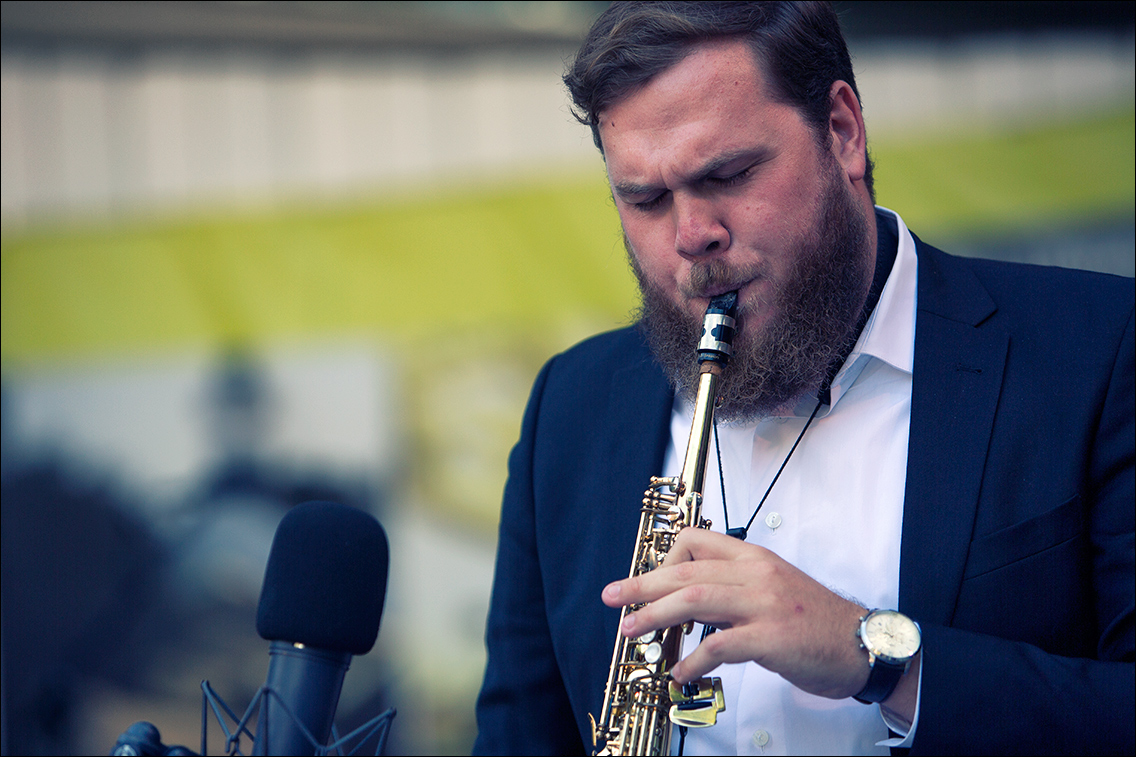 MGL6026 in Ragtime Bandits beim Jazz Open Hamburg 2018