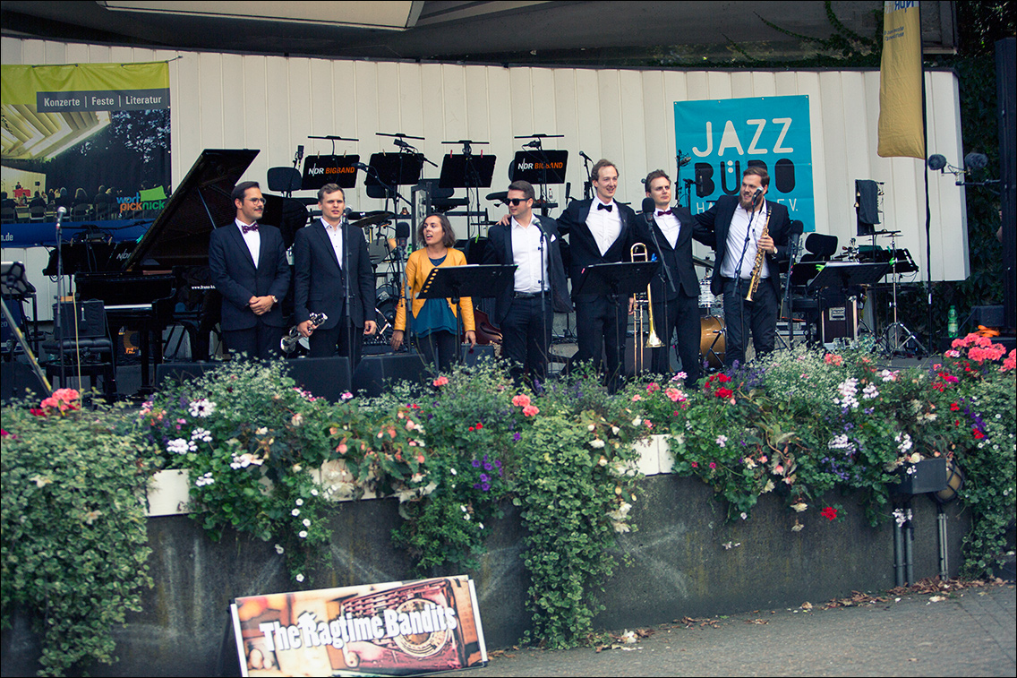 MGL6338 in Ragtime Bandits beim Jazz Open Hamburg 2018