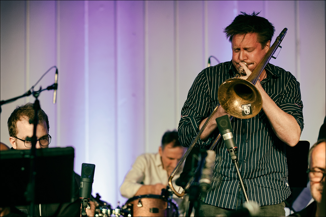 Jazz Open Hamburg 2019 1114 in Gabriel Coburger's XXL Ensemble feat. Ken Norris