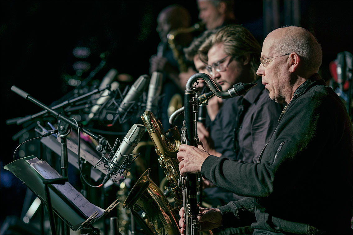 Jazz Open Hamburg 2019 404 in Gabriel Coburger's XXL Ensemble feat. Ken Norris