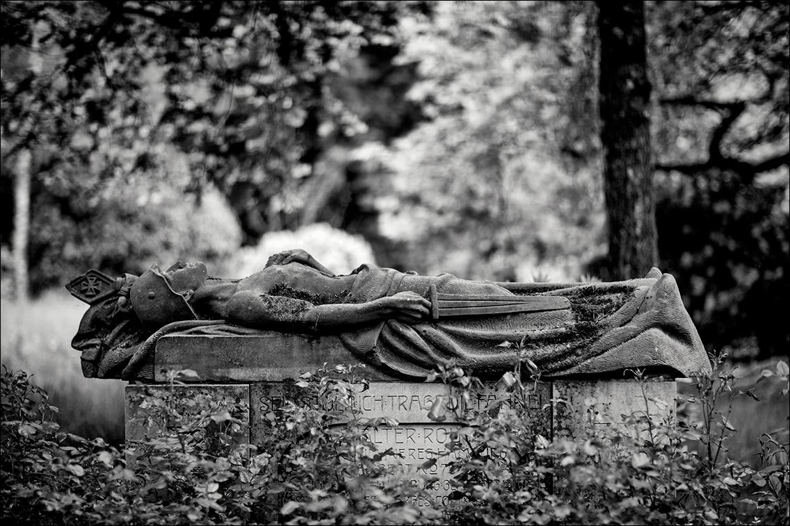 IMGL9258 Roy in Bildhauer Arthur Bock auf dem Ohlsdorfer Friedhof